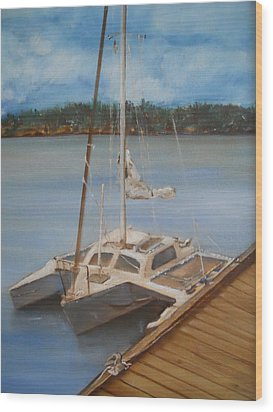 Mi Joy Wood Print by Joyce Reid