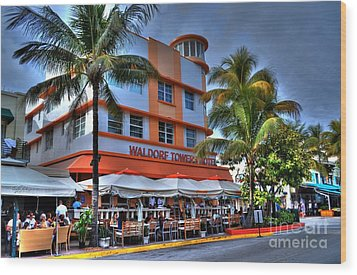 Miami Beach Art Deco 2 Wood Print