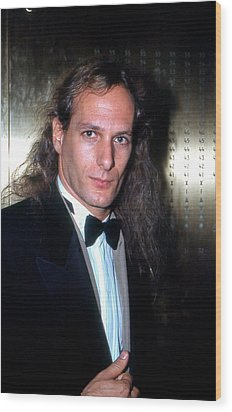 Michael Bolton 1990 Wood Print by Ed Weidman