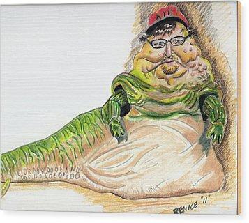 Michael Moore Wood Print