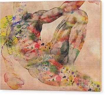 Michelangelo  Wood Print by Mark Ashkenazi