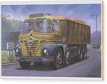 Mickey Mouse Foden. Wood Print by Mike  Jeffries