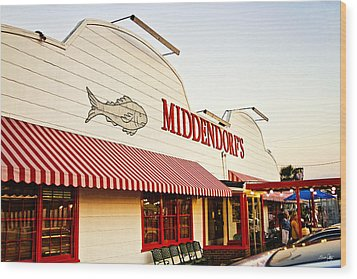 Middendorf's Wood Print by Scott Pellegrin