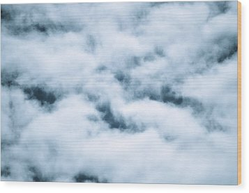 Midnight Clouds  Wood Print by Sheldon Blackwell