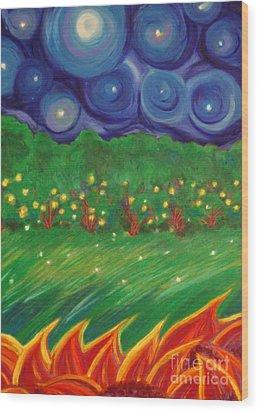 Midsummer By Jrr Wood Print by First Star Art
