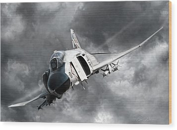 Mig Killer 2 Wood Print by Peter Chilelli