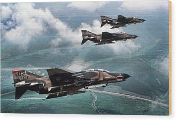 Mig Killers Wood Print by Peter Chilelli