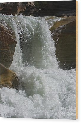 Mighty Waters Wood Print