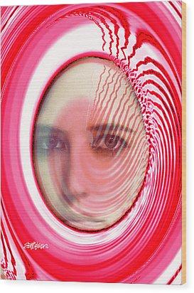 Migraine Wood Print by Seth Weaver
