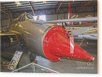 Mikoyan Gurevich Fishbed Mig-21r Wood Print by Gregory Dyer