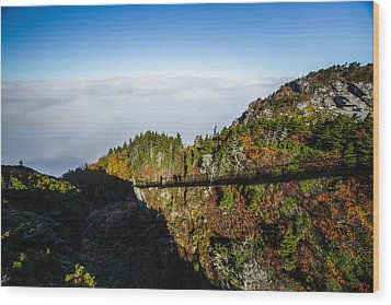 Mile High Bridge Wood Print by John Haldane