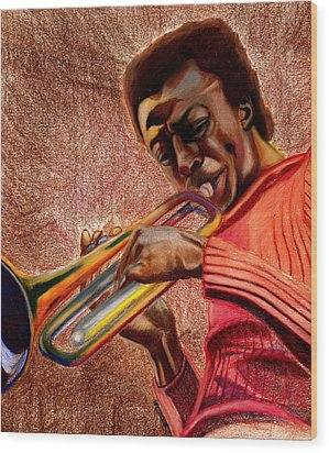 Miles In Color 3 Wood Print by Dallas Roquemore