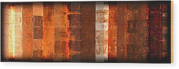 Milestones Wood Print by Linda Bailey