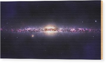 Milky Way Galaxy Wood Print