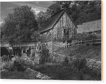 Mill - The Mill Wood Print by Mike Savad