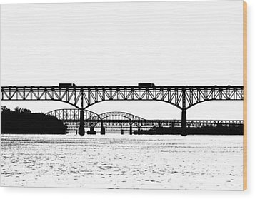Millard Tydings Memorial Bridge Wood Print