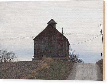 Miller  Barn Wood Print
