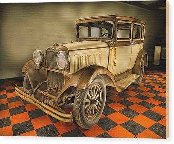 Millers Chop Shop 1929 Dodge Victory Six Before Wood Print