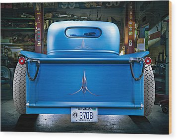 Millers Chop Shop 46 Chevy Truck Rear Photograph By Yo Pedro