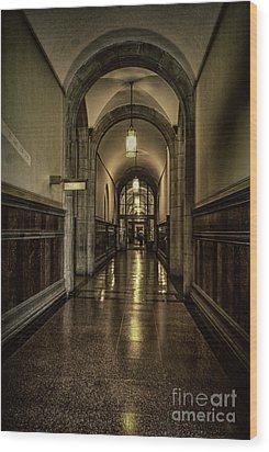 Million Dollar Hallway Wood Print