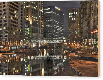 Milwaukee River Wood Print