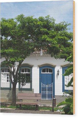 Minas Gerais  Brasil  3 Wood Print by Maria Akemi  Otuyama