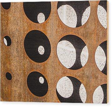 Mind - Contemplation Wood Print by Steven Milner