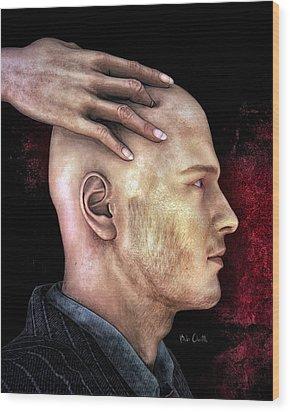 Mind Control Wood Print by Bob Orsillo