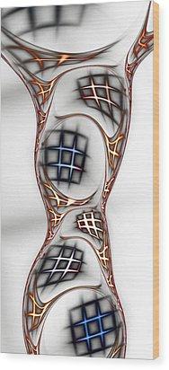 Mind Games Wood Print by Anastasiya Malakhova