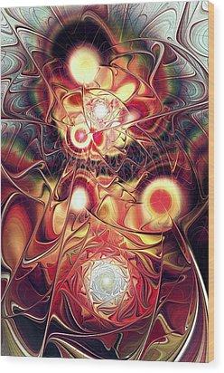 Mind Meld Wood Print by Anastasiya Malakhova