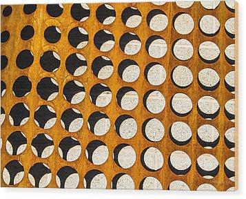 Mind - Spaces Wood Print by Steven Milner