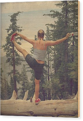 Mindbody Wood Print by Laurie Search