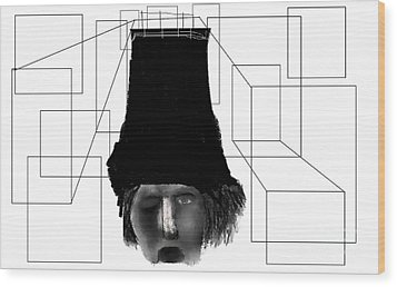 Mindfull Wood Print by Rc Rcd