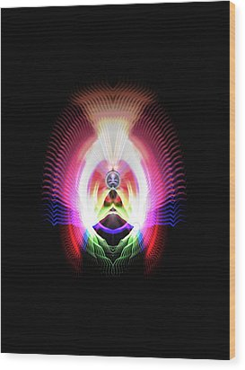 Mind's Eye Wood Print by Thomas  MacPherson Jr