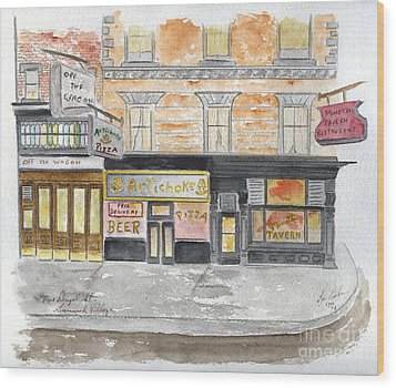 Minetta Tavern  Greenwich Village Wood Print
