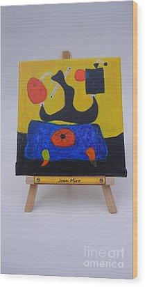 Mini Miro Wood Print