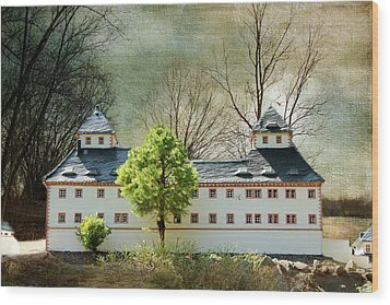 Miniatures Augustusburg Wood Print by Heike Hultsch