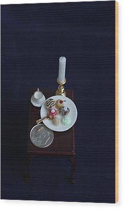 Miniatures O O A K Wood Print by David Bearden