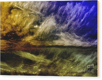 Mirage Wood Print by Gerlinde Keating - Galleria GK Keating Associates Inc
