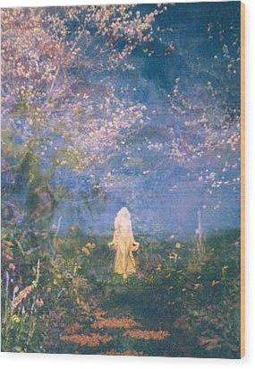 Mirage Wood Print by Judith Morris