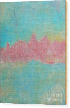 Mirage Wood Print by Kate Marion Lapierre