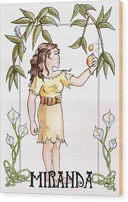 Miranda Wood Print