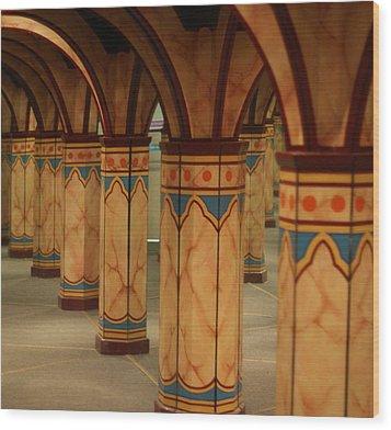 Mirror Maze Wood Print
