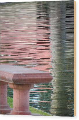 Wood Print featuring the photograph Mirror To The Soul by Deb Halloran