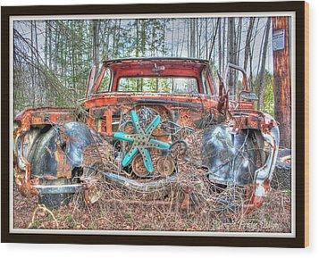 Missing Parts Wood Print by Michaela Preston