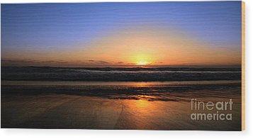 Mission Beach San Diego Wood Print