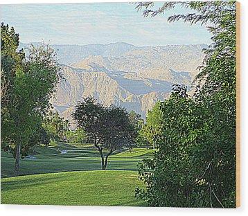 Mission Hills Golf Wood Print