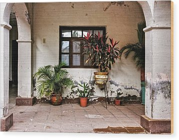 Wood Print featuring the photograph Mission Nuestra Senora De Loreto Concho by Kandy Hurley