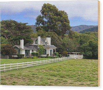 Mission Ranch - Carmel California Wood Print
