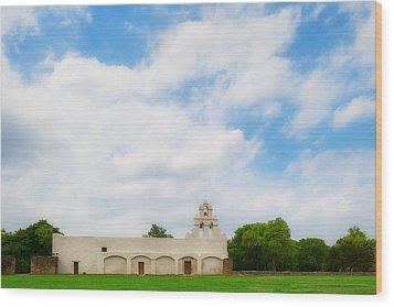 Mission San Juan Capistrano - Texas Wood Print